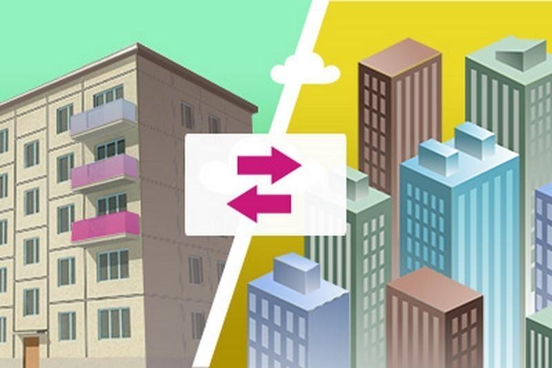 Обмен квартиры картинки